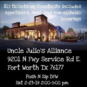 Other - DFW area posh in sip in Fort Worth Texas